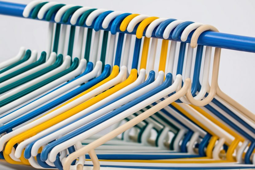 Tidy Clothes Hangers